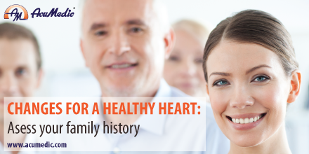 AcuMedic 20 Days To A Healthier Heart - Assess Family History