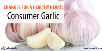 AcuMedic 20 Days To A Healthier Heart - Garlic