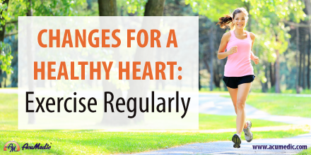 AcuMedic 20 Days To A Healthier Heart - Exercise Regularly