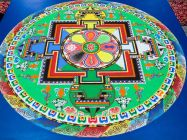Image: Buddhist Mandala and Tea Offering at AcuMedic Centre