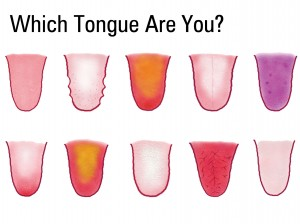 tongue chart postcard(blank) copy